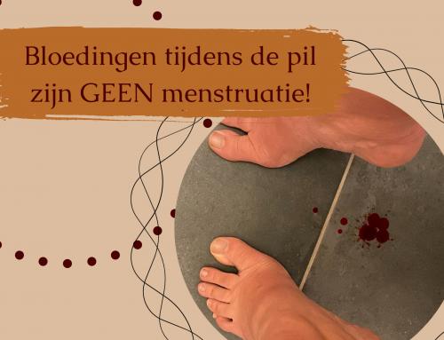 Bloedingen tijdens de pil zijn GEEN menstruaties