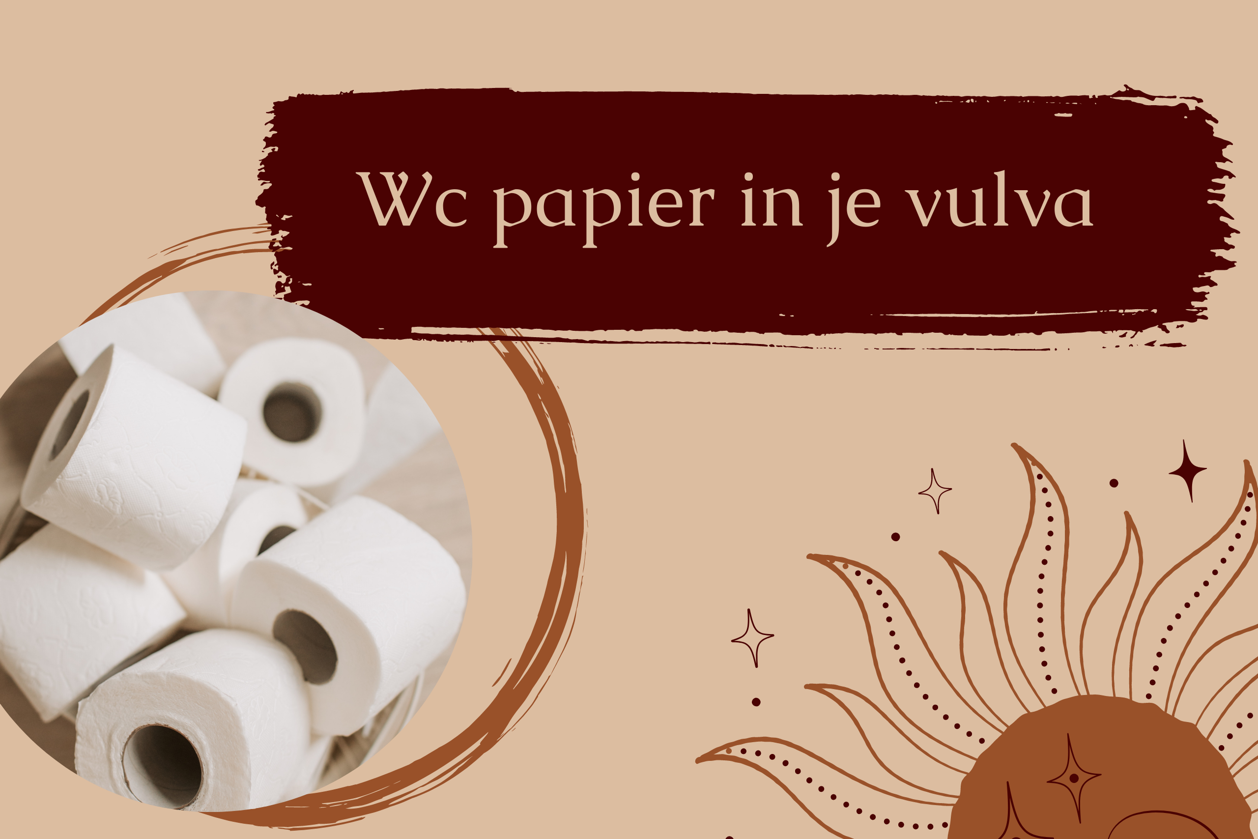 wc papier vulva